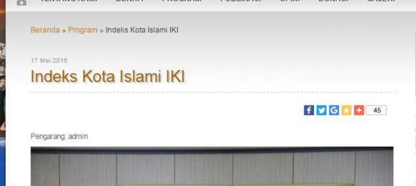 Indeks Kota Islami
